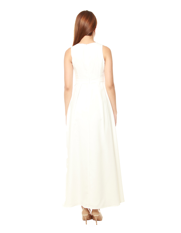 Avery Maxi Dress in White