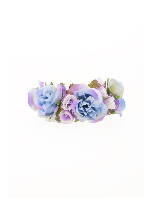 Leah  Bridesmaid Corsage in Blue