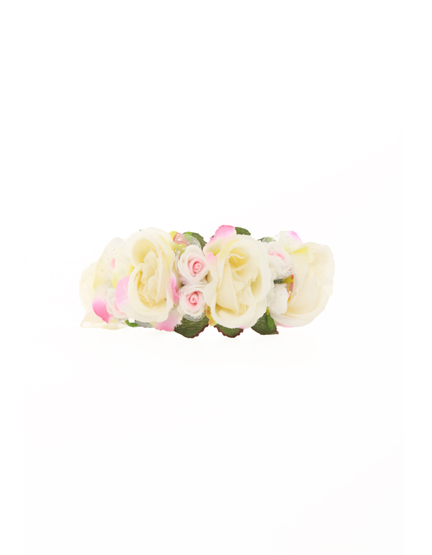 Leah Bridesmaid Corsage in Cream
