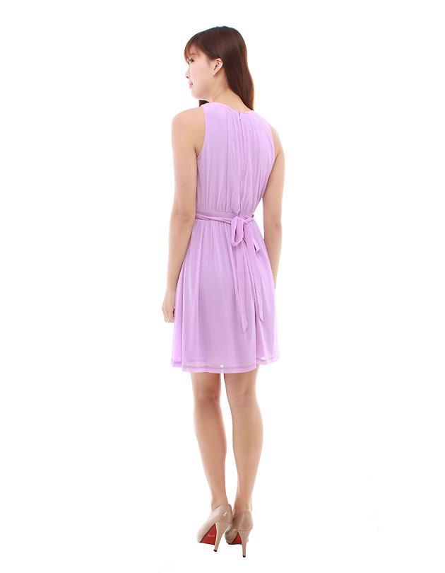 Paris Dress in Orchid