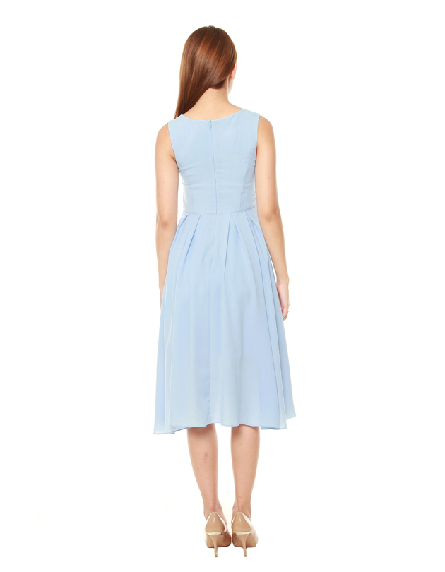 Summer Dress in Pale Blue