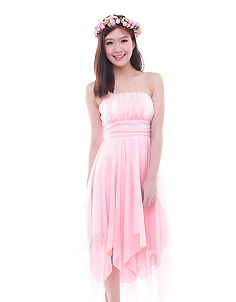 Pixie Dress in Soft Pink