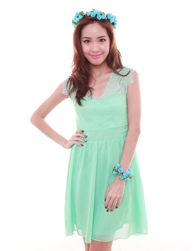 Tiffany Green Bridesmaid Dresses