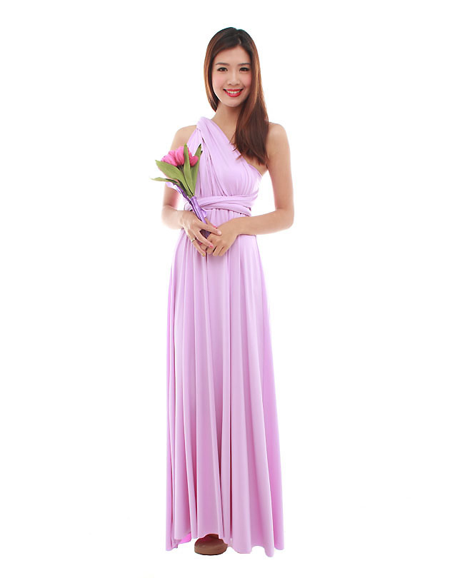 Cherie Convertible Maxi Dress in Lilac - The BMD Shop - Your ...