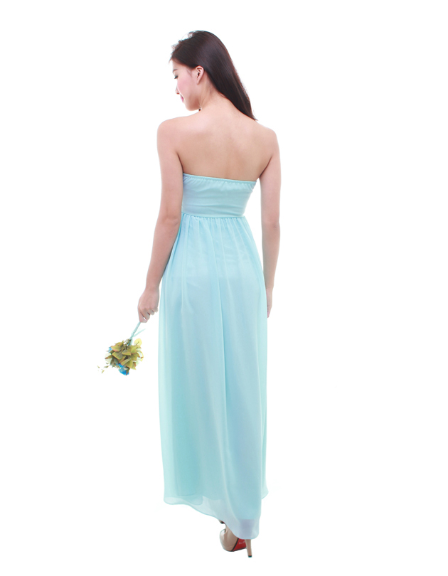 Cleo Maxi Dress in Dreamy Blue