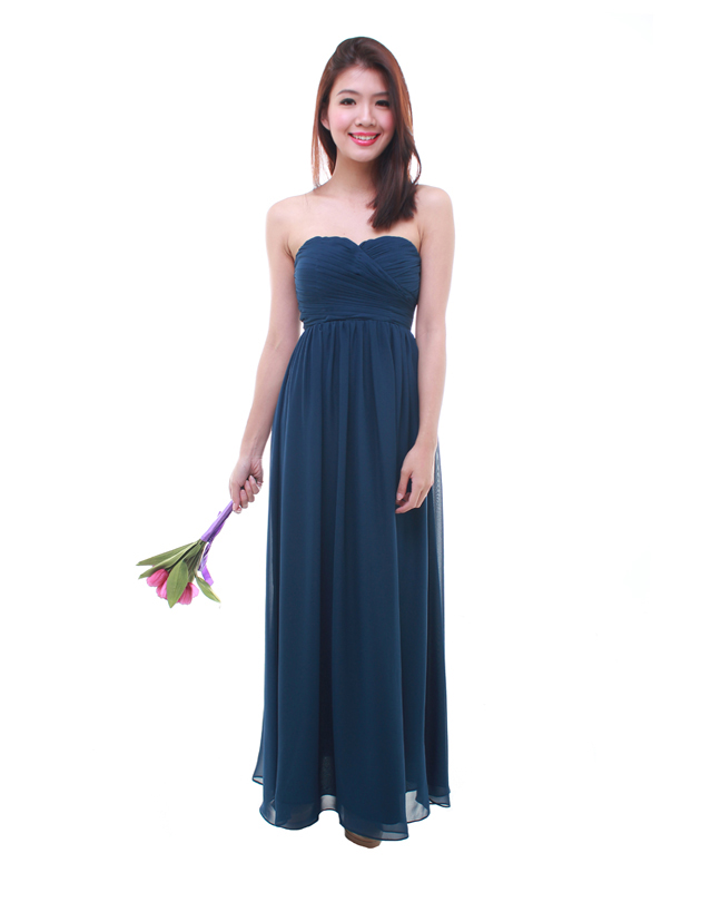 Tube maxi dress singapore