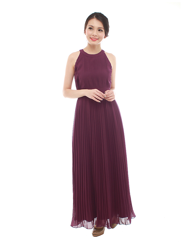 Destiny Maxi Dress in Majestic Purple