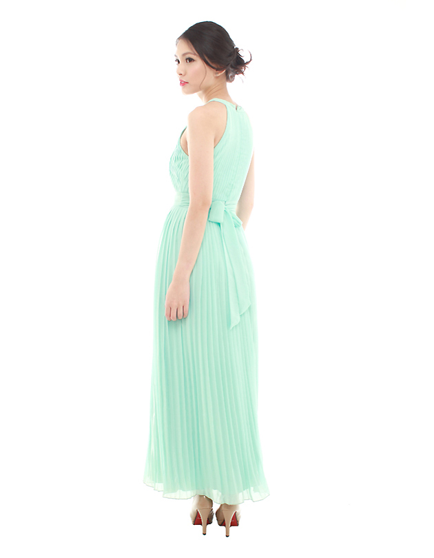 Destiny Maxi Dress in Tiffany