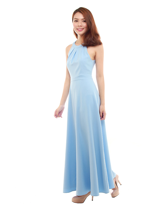 a4802293c4 Heather Maxi Dress in Powder Blue - The BMD Shop - Your Bridesmaid ...