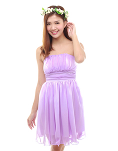 Holly Dress in Lilac
