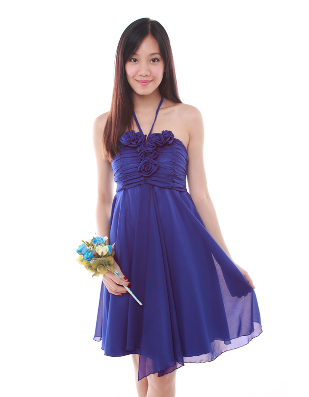 Kyla Dress in Egyptian Blue - The BMD Shop - Your Bridesmaid Dresses ...