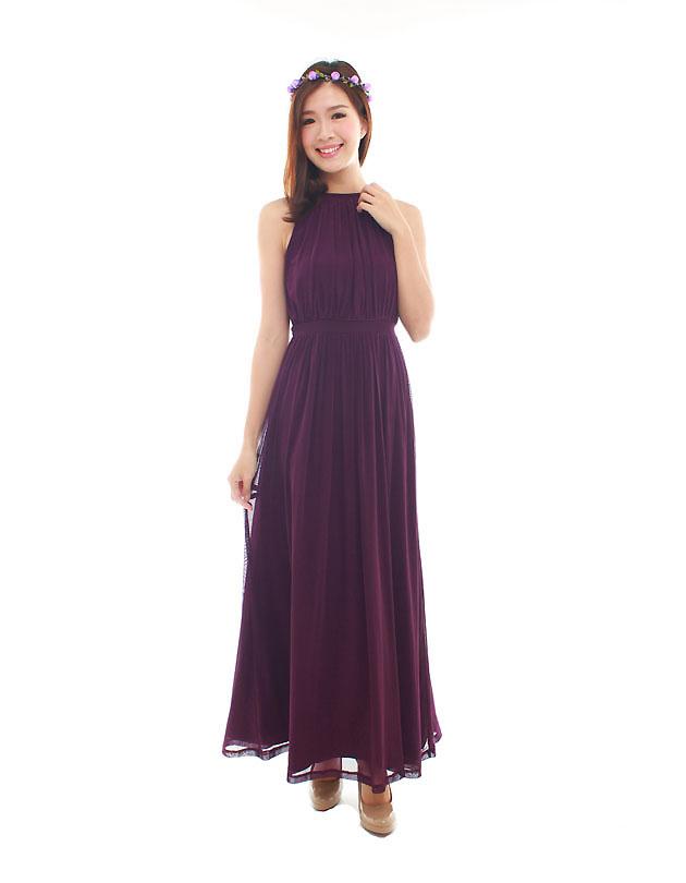 Paris Maxi Dress in Majestic Purple - The BMD Shop - Your Bridesmaid ...