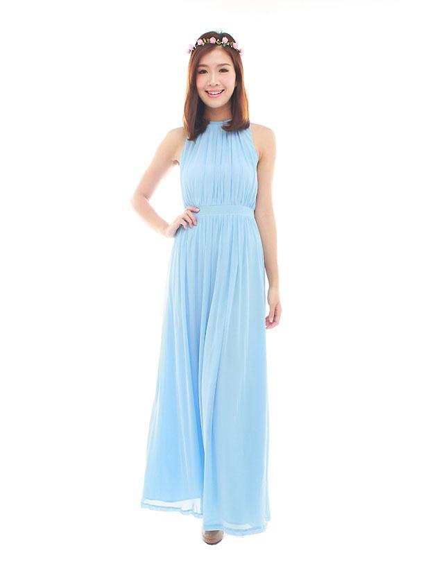 e65f996327 Paris Maxi Dress in Powder Blue - The BMD Shop - Your Bridesmaid ...