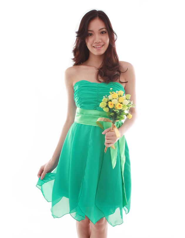 Roxanne Dress in Persian Green