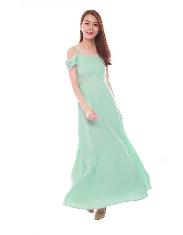 0af61f53b379 Ophelia Maxi Dress in Tiffany - The BMD Shop - Your Bridesmaid ...