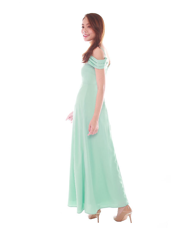 Ophelia Maxi Dress in Tiffany